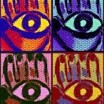"""Pop Mod Hamsa"" by galleryKatie"
