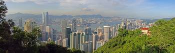 From Barker Road, Victoria Peak