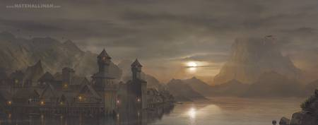 Laketown - The Hobbit