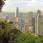 """On the Central Green Trail from Victoria Peak"" by coljay"