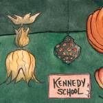 """Kennedy School lamps"" by herchuckness"