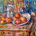 """""""Homage to Cezanne"""" by clydesemler"""