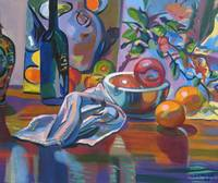 Still Life with Oranges