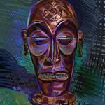 """African Tribal Mask"" by clydesemler"