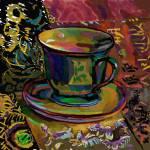 """Still Life with Teacup 1"" by clydesemler"