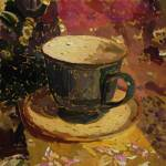 """Still Life with Teacup 2"" by clydesemler"