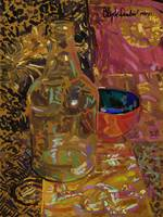 Still Life with Bottle - vi.x.xi