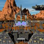 """""""Enlil Departing Cydonia SpacePort Ancient Mars"""" by Gammagiddo"""