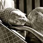 """Sleeping Buddha Black and White"" by ReimeiPhotography"