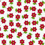 """Poinsettia Pattern"" by MaryDolan"