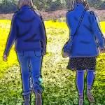 """""""Poster - Blue Girls"""" by DaveScott"""