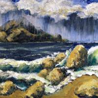 """Storm Over Ben Weston Pt"" by Randy Sprout"