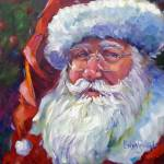 """Colorful Santa, 2011"" by offthewallart"