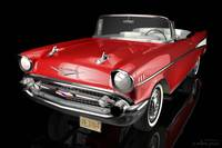 1957 Chevrolet Bel Air Convertible - 3D Model