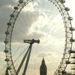 """London Eye & Big Ben from Waterloo Bridge"" by bespokepix"