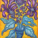 """""""Mauve Floral"""" by ChipPique"""
