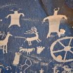 """Newspaper Rock Petroglyphs"" by julsadams"