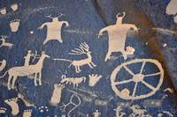 Newspaper Rock Petroglyphs