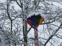 Maypole in Winter