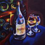 """beaujolais, cellar"" by VinoEmily"