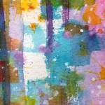 """Lovely Dreams Tall and Skinny Abstract Watercolor"" by GinetteCallaway"