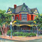 """On Broadway San Diego Sheldon House"" by BeaconArtWorksCorporation"