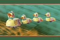 Vintage Toy Ducks
