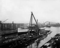 Bethlehem Shipyards, Portrero Hill  1918 by WorldWide Archive