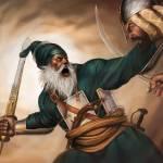 """""""Baba Deep Singh 28 by 20"""" by bhagatsingh"""