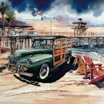 """""""Woodie in Paradise"""" by WillyDaleArt"""