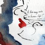 """Abstract Inspirational About Kissing Love and Life"" by GinetteCallaway"
