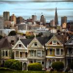 """Painted Ladies in San Francisco"" by dennisherzog"