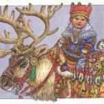 """Reindeer Baby"" by wendyedelson"