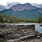"""Athabasca Falls"" by lynnharmstrong"