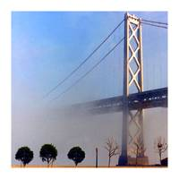 Bay Bridge with Morning Fog