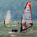 """Windsurfing_Hood River 14"" by barbsummering"
