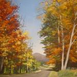 """Autumn Drive"" by thamanart"