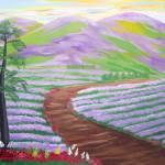 """""""Lavender fields"""" by elajanus"""