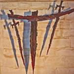 """Cross of the Martyrdom in Canterbury Cathedral."" by DaveScott"
