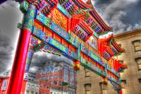 Chinatown Arch in HDR
