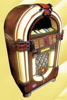 Wurlitzer Jukebox Watercolor