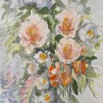 """roses bouquet"" by sandrafrancis"