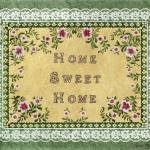 """Home Sweet Home ~ Butterflies"" by KarenMay"