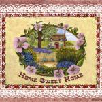 """Home Sweet Home ~ Cottage"" by KarenMay"