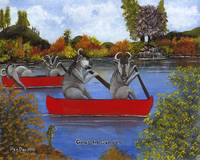 Gnus In Canoes