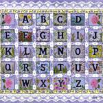 """Lilac Alphabet"" by KarenMay"