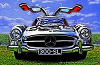1955 Mercedes-Benz 300SL Gull Wing