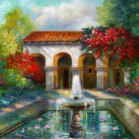 The Monestary Art Prints & Posters by Gina Femrite