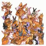 """So Many Bunnies!"" by wendyedelson"