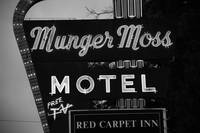 Route 66 - Munger Moss Motel 2008